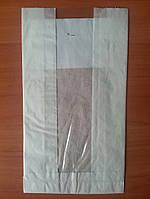 Бумажный пакет с прозрачной вставкой 11.56