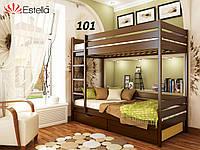 Детская Кровать Дуэт Бук Щит 101 (Эстелла-ТМ)