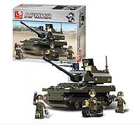 """Конструктор Sluban """"Сухопутные войска 2: Танк и мотоцикл"""", 258 дет, M38-B9800, фото 1"""