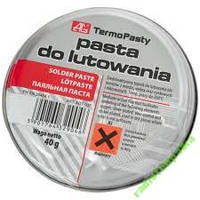 Паяльная паста флюс 40 гр Pasta do lutowania AG