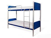 Кровать двухъярусная Арлекино 1862х860х2080мм Металл-дизайн   80 металлическая