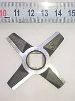 Нож для мясорубки Zelmer №8 (двухсторонний, зелмер)