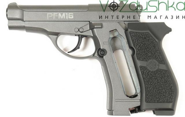 пневматический пистолет beretta (crosman pfm 16)