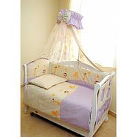 Детский постельный комплект Twins Comfort С-003 Африка, фиолетовый