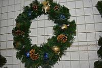 Рождественский венок классика 55см