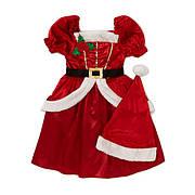 Карнавальное платье Мисс Санта