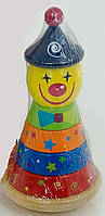 Пирамида детская Клоун