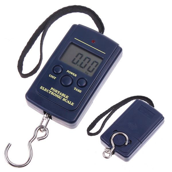 Весы карманные Безмен Кантер 40кг точность 5г