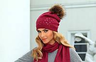 Теплый комплект - шапочка и шарф от Kamea - Tiona.