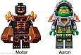 Конструктор лего нексо Nexo 198 деталей 14003 Лавинный разрушитель Молтора, фото 4