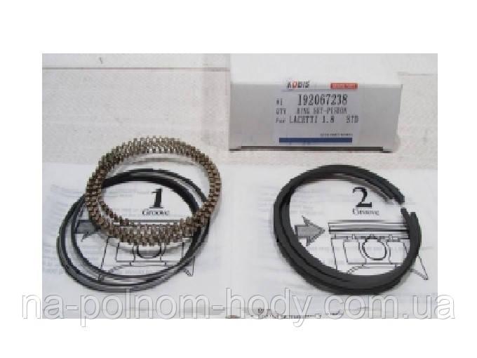Кольца поршневые Лачетти 1.8 (LDA) стандарт Kobis Корея