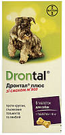 Таблетки от глистов для собак Bayer Drontal Plus