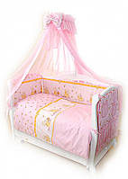 Детский постельный комплект Twins Comfort С-008 Медуны, розовый