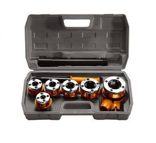 Клуппы трубные, наборы резьбонарезные, метчики и плашки