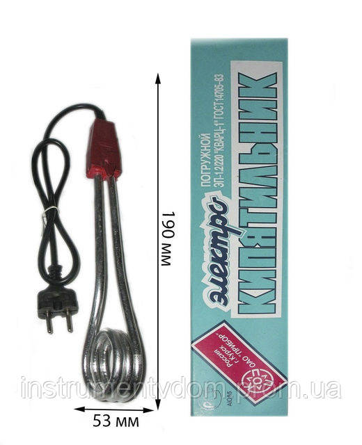 Электрокипятильник 1,2 кВт (Курск)