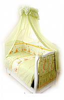 Детский постельный комплект Twins Comfort С-009 Медуны, зеленый