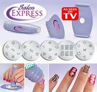 Набор для нанесения узоров на ногти Salon Express Салон Экспрес