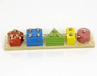 Деревянный сортер игрушка детская