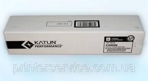 Тонер C-EXV11/12 Katun Black для iR2270/2870/3025/3570/4570