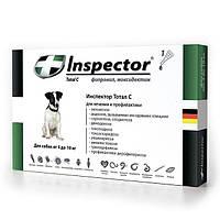 Капли ИНСПЕКТОР (INSPECTOR) для собак 4-10 кг 1 пипетка