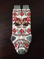 Гетры ангоровые женские с петухом