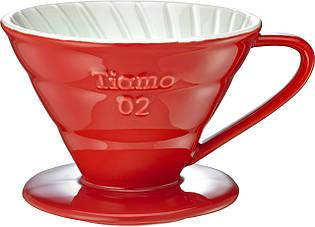 Пуровер Ceramic Red Filter V02 Tiamo