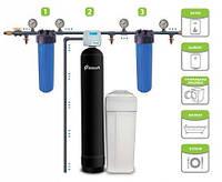 Комплект фильтров для коттеджа с 1-2 санузлами (жесткость, железо, запах, марганец, органика и др.)