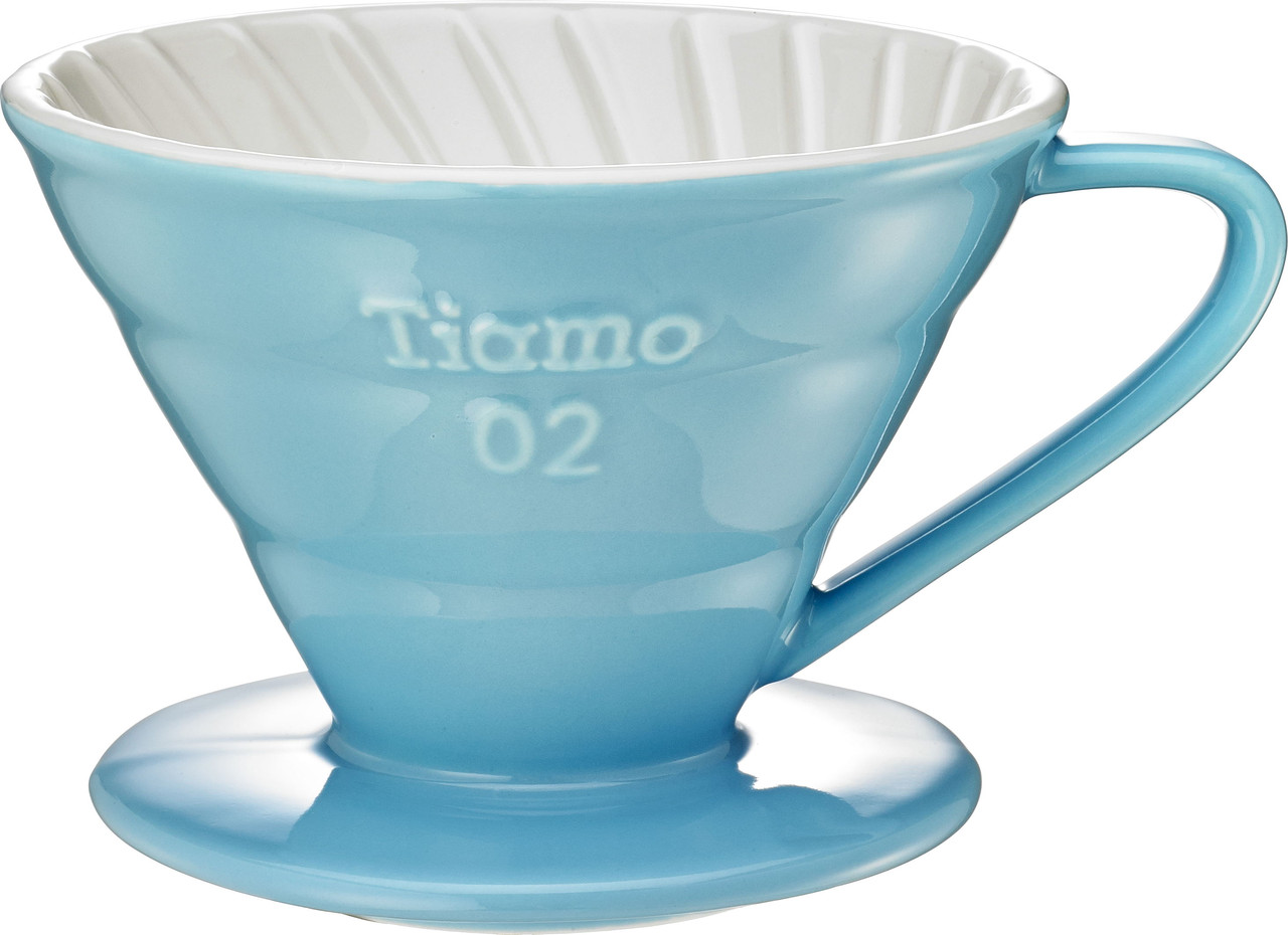 Пуровер Ceramic Blue Filter V02 Tiamo