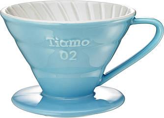 Пуровер Ceramic Blue Filter V02 Tiamo