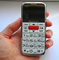 """Мобильный телефон """"Бабушкофон"""" MuPhone M7700 White"""