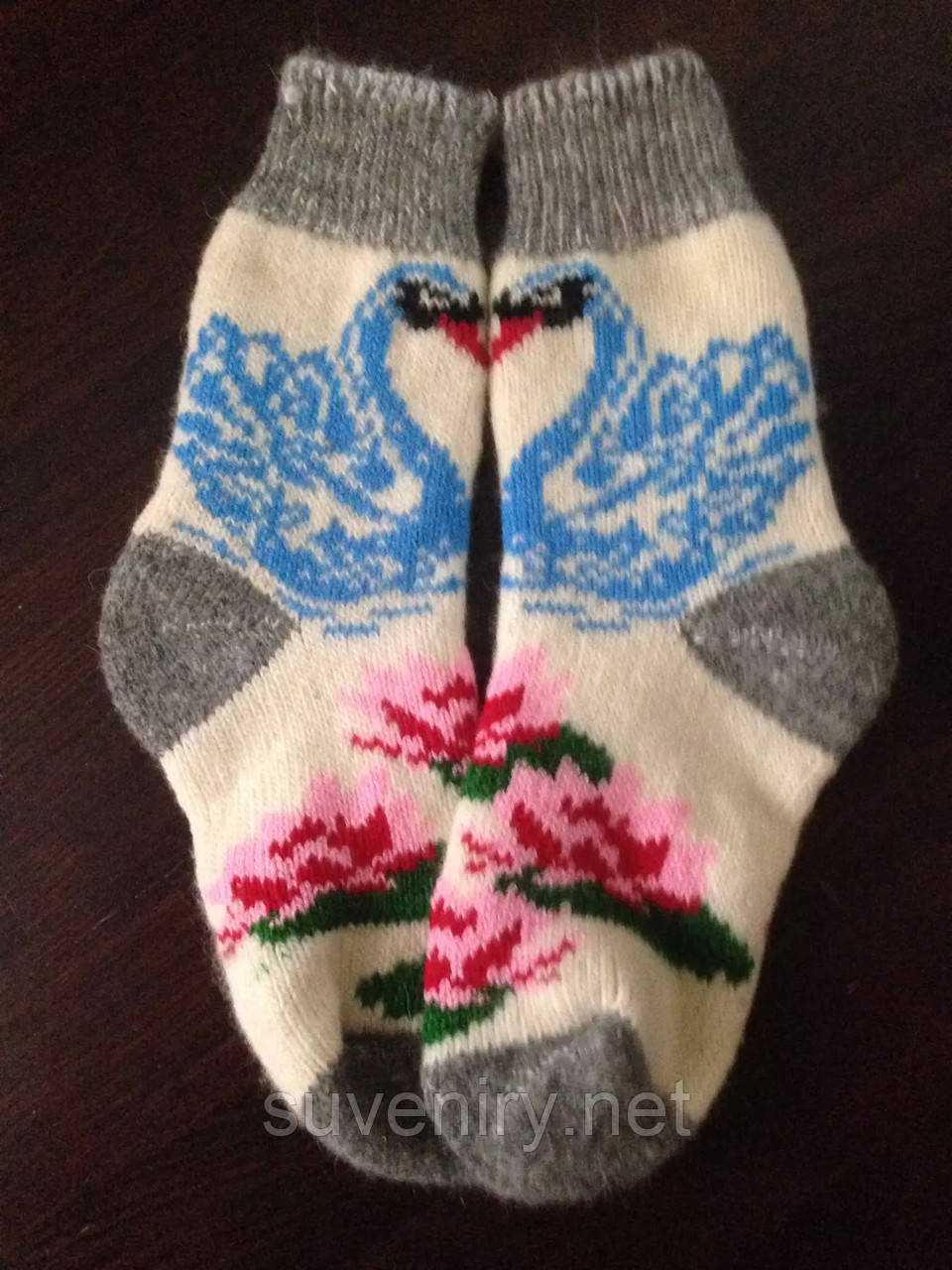 Женские ангоровые носки