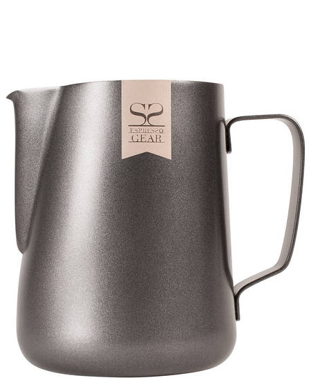 Молочник Espresso Gear Pitcher Black 0,6L