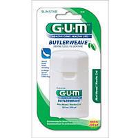 Зубная нить GUM ButlerWeave Waxed, 183 м