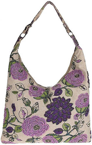 Симпатичная женская сумка из текстиля Traum 7216-07, фиолетовый