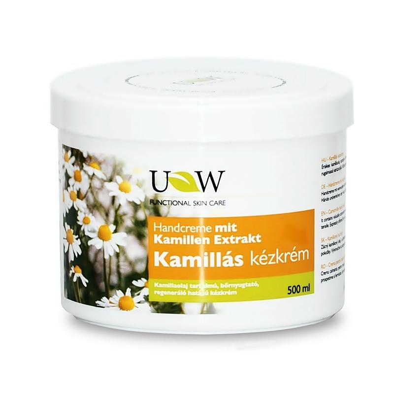 Крем для рук з маслом ромашки UW Kamillas 500 мл
