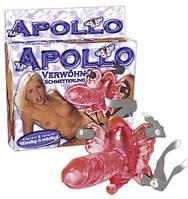 Клиторальная вибробабочка Apollo красная 61325594820000