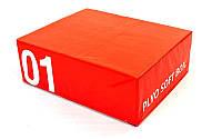 Бокс плиометр. мягкий  Zelart FI-5334-1 SOFT PLYOMETRIC BOXES