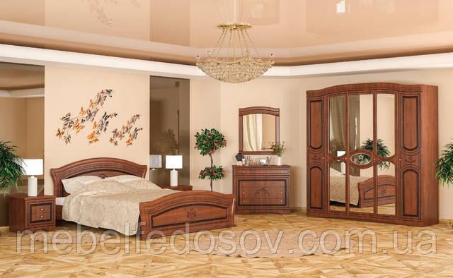спальня милано вишня