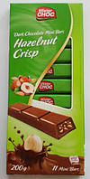 Шоколад Mister Choc Nuss Crisp, Германия, 200 г
