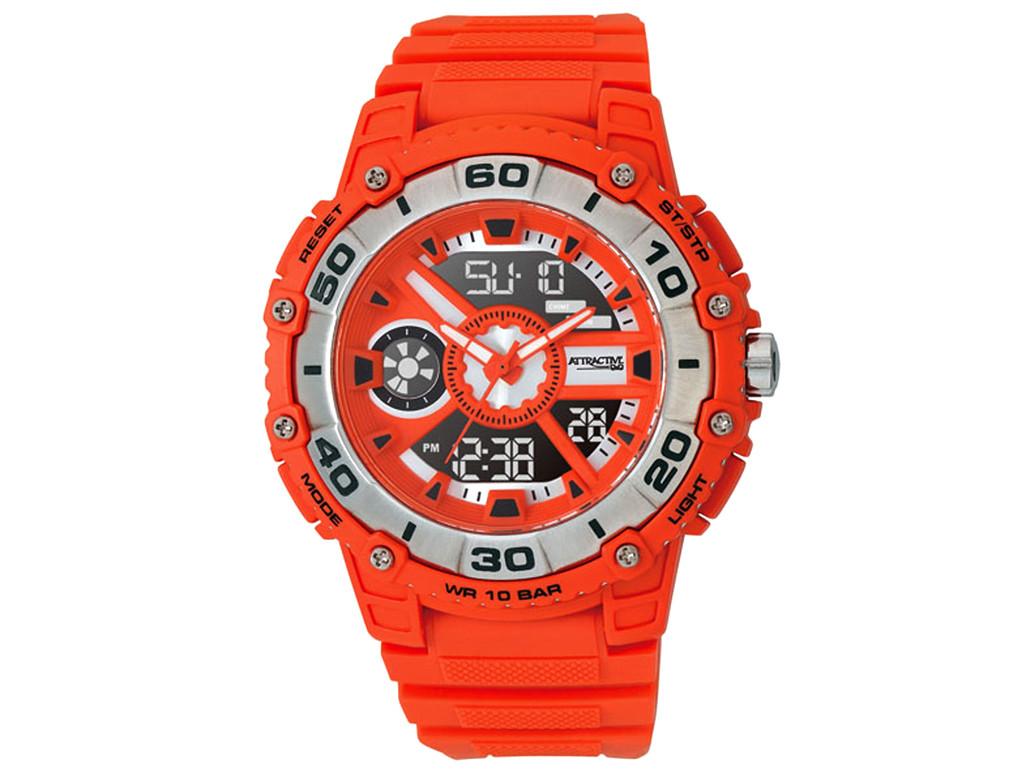 82fe136d Часы Q@Q Attractive 10Bar противоударные, можно плавать и нырять, стальной  безель, DE10J312Y
