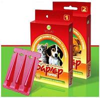 Капли Барьер- супер для взрослых собак и котов 3 шт 1 мл