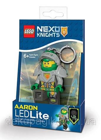 Брелок-фонарик Лего Некзо Найтс Аарон LGL-KE98