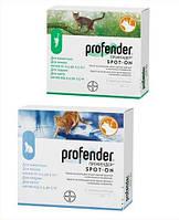 Капли Профендер Спот Он для кошек от 2,5-5 кг 0,7 мл