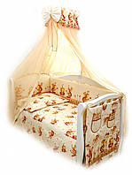 Детский постельный комплект Twins Comfort С-031 Пчелки, бежевый