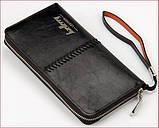 Мужское портмоне клатч Baellerry Leather, фото 3