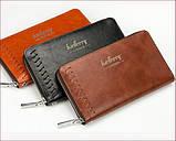 Мужское портмоне клатч Baellerry Leather, фото 4