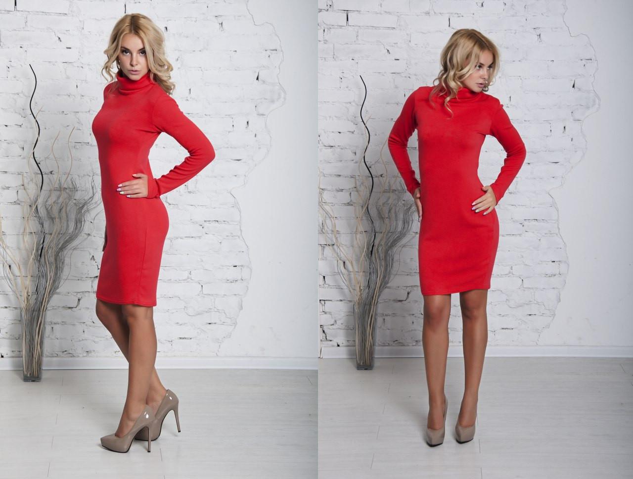 b73278559d92e0c Короткое красное платье ангора — купить недорого в Харькове в ...