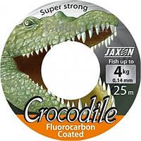 Леска Jaxon Crocodile Fluorocarbon Coated 25m, ∅ 0.12