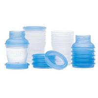 Набір для годування VIA, контейнери для збереження молока AVENT 10 шт SCF618/10