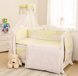 Детский постельный комплект Twins Comfort С-032 Котята, зеленый